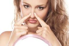 masáž nosa
