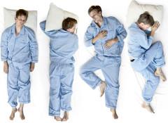 polohy pri spánku majú vplyv na výber správneho vankúša