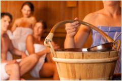 rôzne druhy saun
