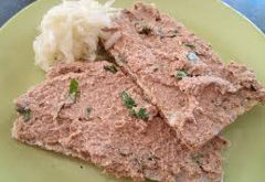 recept na nátierku z udeného mäsa