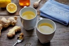 Čaj s nakladaným zázvorom