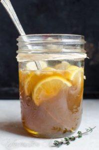 Ako pripraviť nakladaný zázvor s medom a citrónom