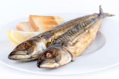 údená makrela na Čertovu nátierku