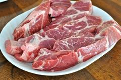 Bravčové prerastené mäso