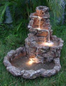 Kaskádovitá fontána