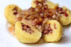plnené zemiakové knedlíky