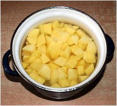 zemiaky na vianočnú polievku
