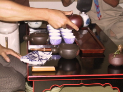 čajovne v Japonsku