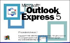Ako rozdeľovať poštu pomocou outlook express