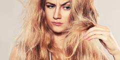 Ako sa starať o suché vlasy