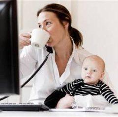 Ako si privirobiť na materskej?