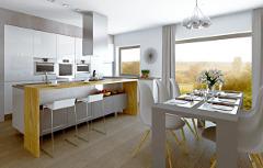 Ako zrekonštruovať kuchyňu v panelákovom byte