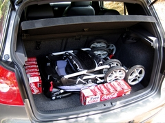 Skladný golfový kočík