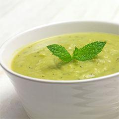 bezlepkova špenátová polievka