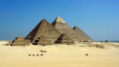 krásy Egypta - pyramídy v Gíze
