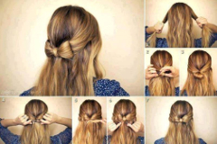mašľa z vlasov