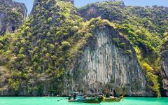 malý raj v Phukete