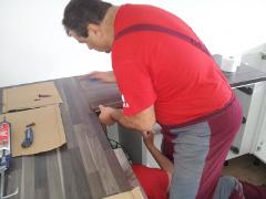 montáž kuchyne v panelákovom byte