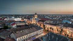 pohľad na mesto Arad