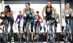 spinning vo fitness štúdiu