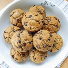 recept na výborné vločkové muffiny