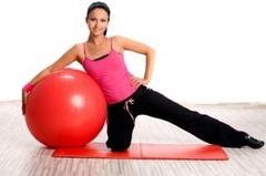 Ako cvičiť na lopte – zahriatie