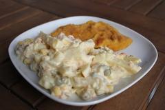 chutný zemiakový šalát