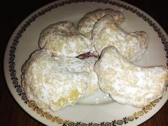 orechové taštičky z vlašských orechov