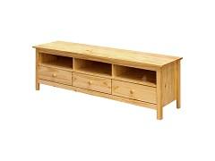 ako vybrať drevený TV stolík