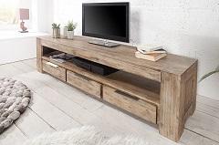 drevený TV stolík