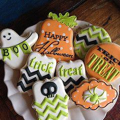 halloweenske koláče