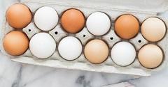 ako skladovať vajcia