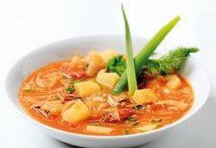 ako uvariť kapustovú polievku