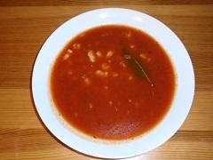 ako uvariť rajčinovú polievku
