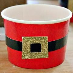 dekorácia pohárov