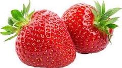 jahody na jahodový džem