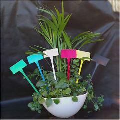 keramické zapichovacie menovky k bylinkam