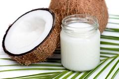 kokosový opaľovací olej