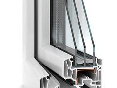 konštrukcia plastových okien