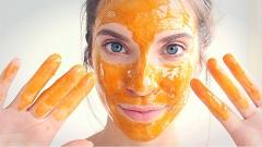 medový peeling na tvár