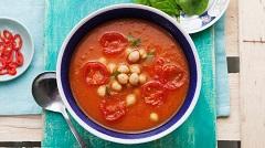 mexickú rajčinovú polievku