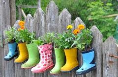 nápady a vychytávky na záhradu