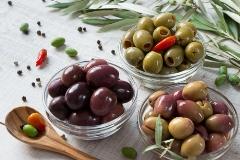 olivy do špagetového koláča