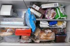 potraviny v mrazničke