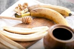 príprava banánovej masky
