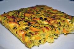 príprava zeleninového koláča