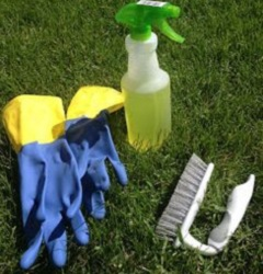 prostriedky na čistenie