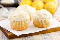 recept na citrónové muffiny