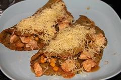 recept na kura na zemiakovej placke