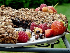 recept na vločkový koláč